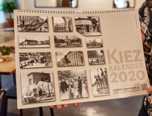 Bei uns erhältlich: Der Kiez-Kalender 2020