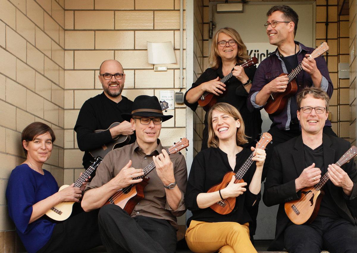 Das Ukulele Orchester aus Berlin-Pankow