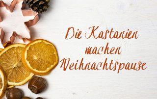 Weihnachtspause in der Kastanie vom 24.–25. Dezember